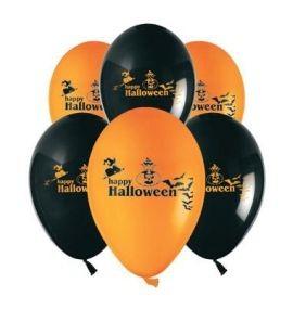 Балони Halloween, цветове микс 5бр.
