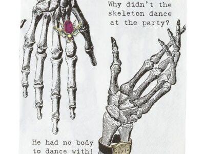 Skeleton party, салфетки 20бр.