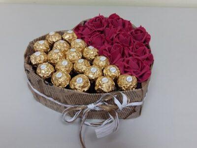 Сърце с бонбони FERRERO ROCHER