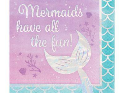 Mermaid Shine, големи салфетки