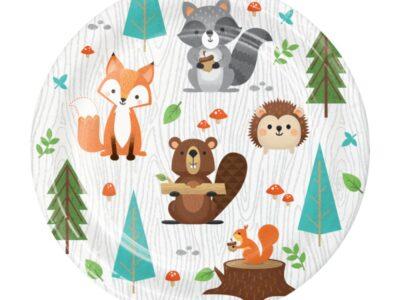 Woodland Animals, малки чинии 8бр.