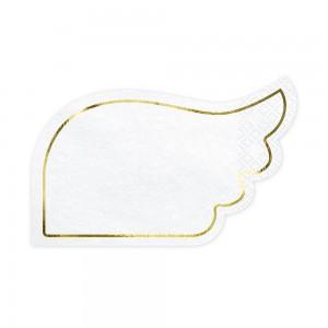 Pure White, салфетки Wings
