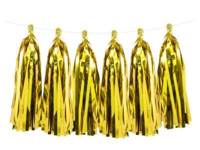 Парти украса, Тасели Glittering Gold