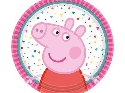 Peppa Pig, малки чинийки 8бр.