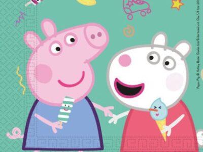 Peppa Pig, салфетки