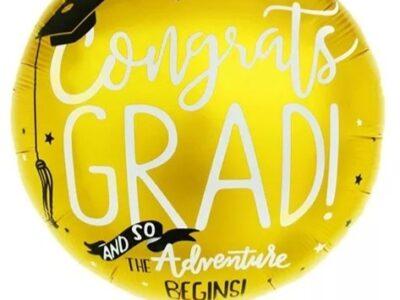 Балон Congrats GRAD, Gold