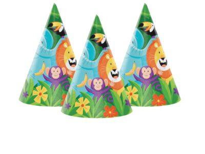 Jungle Safari, Парти шапки